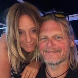 Skipper Chris mit seiner Frau Ricarda